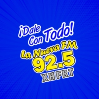 Logo of radio station XHFRT La Nueva Comitán 92.5