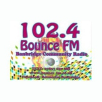 Logo of radio station BounceFM Banbridge