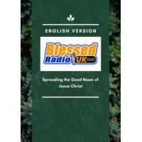 Logo of radio station Blessed Radio UK (English)