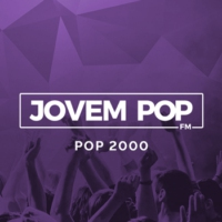Logo of radio station JOVEM POP - POP2000
