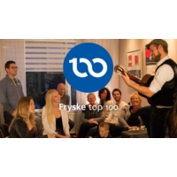 Logo of radio station Fryske top 100