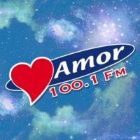 Logo of radio station XHYU Amor 100.1 FM