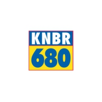 Logo of radio station KNBR 680