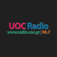 Logo of radio station UOC Radio