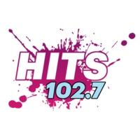 Logo of radio station KXMZ Hits 102.7
