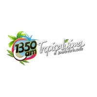Logo of radio station XEQK-AM Tropicalísima 1350