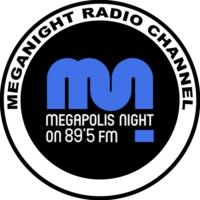 Logo of radio station Mega Night Radio
