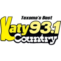 Logo of radio station KMTF Katy Country 93.1