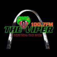 Logo of radio station KFNS-FM The Viper 100.7FM