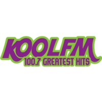 Logo of radio station 100.7 KOOL FM