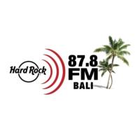 Logo de la radio 87.8 HARDROCK FM BALI