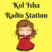 Logo of radio station Kol Isha Radio Station!