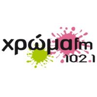 Logo of radio station Chróma FM 102.1 - Χρώμα FM 102.1