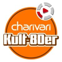 Logo of radio station charivari Kult 80er