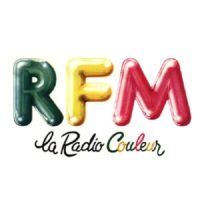 Logo of radio station RFM, la radio couleur