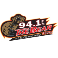 Logo de la radio KJRB 94.1 The Bear
