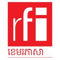 Logo of radio station RFI ខេមរភាសា / RFI Khmer