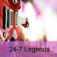 Logo of radio station 24-7 Legends