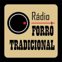 Logo of radio station Rádio Forró Tradicional