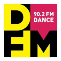 Logo of radio station DFM 90.2FM