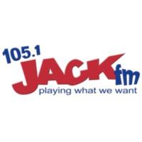 Logo of radio station KCJK Jack 105.1