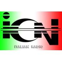 Logo of radio station ICN Radio