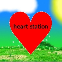 Logo de la radio Heart Station Radio