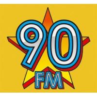 Logo of radio station 90FM