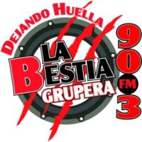 Logo de la radio XHML La Bestia Grupera 90.3 FM
