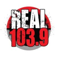 Logo of radio station KYMT REAL 103.9