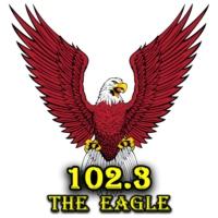 Logo of radio station KETX 102.3 The Eagle
