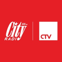 Logo of radio station City Radio 88.0 FM
