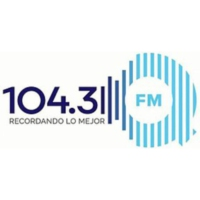 Logo of radio station XHROJ QFM 104.3
