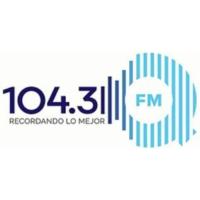 Logo of radio station XHROJ QFM 104.3