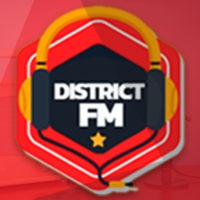 Logo de la radio District FM