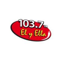 Logo de la radio XHCGT Él Y Ella 103.7FM