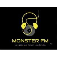 Logo of radio station Monster FM