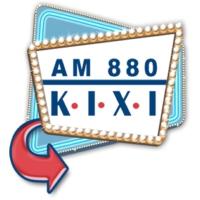 Logo of radio station AM 880 KIXI