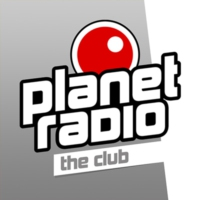 Logo of radio station planet radio - the club