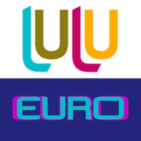 Logo of radio station luluEURO