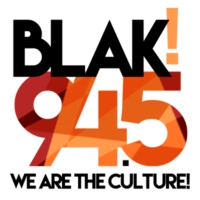 Logo of radio station BLAK 94.5
