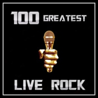 Logo of radio station 100 GREATEST LIVE ROCK