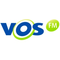 Logo of radio station VOS FM