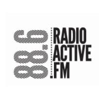 Logo of radio station RadioActive FM