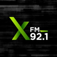 Logo of radio station XHFO-FM XFM 92.1