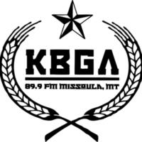 Logo de la radio KBGA College Radio