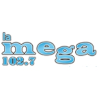 Logo of radio station La Mega - 102.7 FM Iquique