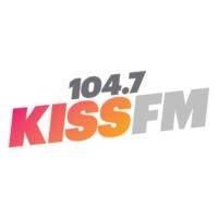 Logo de la radio KZZP 104.7 KISS FM