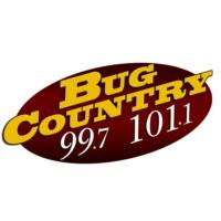 Logo of radio station WBGK Bug Country 99.7