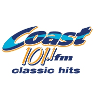 Logo of radio station CKSJ-FM Coast 101.1